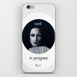 Work in progress by e. - MusA iPhone Skin