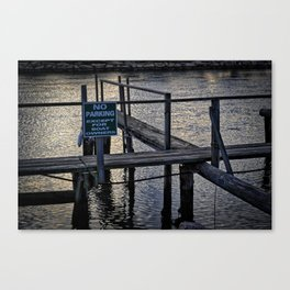 Boats Only Canvas Print