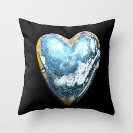 EARTH-HEART-BOUND Throw Pillow