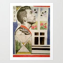 Lie Awake Art Print