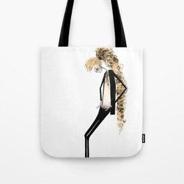 Yves Fucked Up There Tote Bag