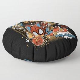 Spider Cat Floor Pillow