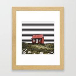 home away from home Framed Art Print