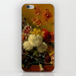 """George Jacobus Johannes van Os """"Still Life with Flowers"""" iPhone Skin"""