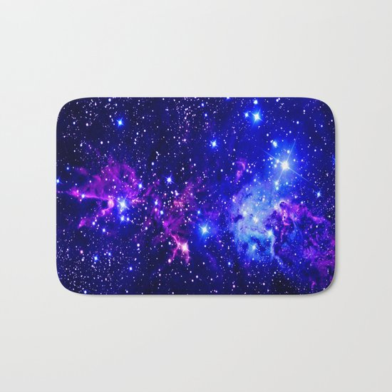 Fox Nebula Galaxy  Bath Mat