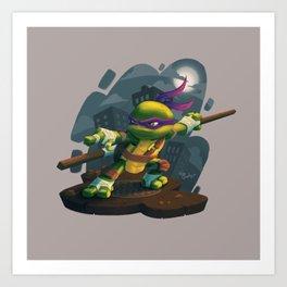Chibi Donatello Art Print