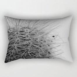 Prickly Pineapple Succulent Rectangular Pillow