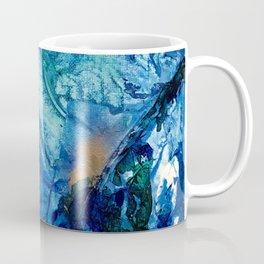 Sea Leaves, Tiny World Collection Coffee Mug