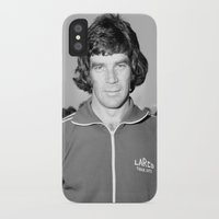 70s iPhone & iPod Cases featuring Johnny 70s by SheilasWogsPoofters