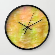 Grass Stains Wall Clock