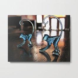 Monkeys Metal Print