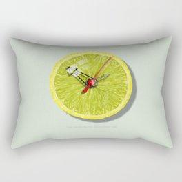 THE-LEMON-WATCH By THE-LEMON-WATCH Rectangular Pillow