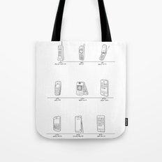 Evolution of Mobile Device Tote Bag
