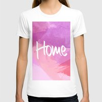 water colour T-shirts featuring Water Colour Home by Ladsandstuff