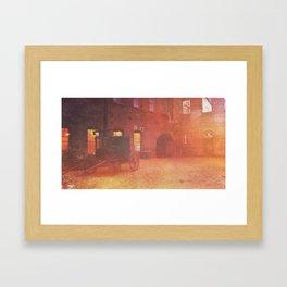 The Goat Farm Framed Art Print