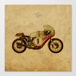 701 number 9 Canvas Print