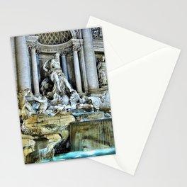 Rome, Italy - Trevi Fountain Stationery Cards