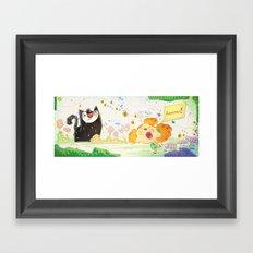 Banzai Framed Art Print