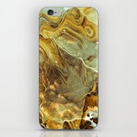 white marble iPhone & iPod Skins featuring Marble by Santo Sagese