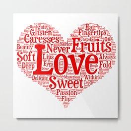 Fruits Of Love  Metal Print