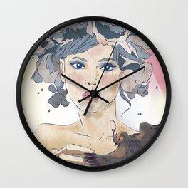 Never a bride Wall Clock