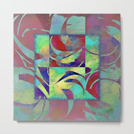 Color taming Metal Print