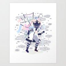 Dream Nomad Art Print