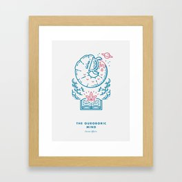 The Ouroboric Mind Framed Art Print