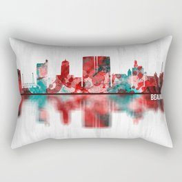 Beaumont Texas Skyline Rectangular Pillow