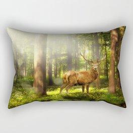 Fantasy Buck Rectangular Pillow