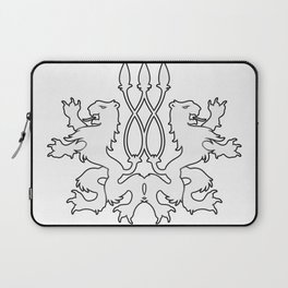 Rampant Lions Series: Version #4 Laptop Sleeve