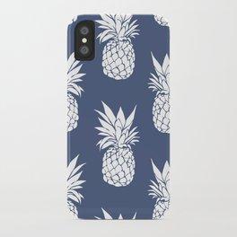 Pineapple Blues iPhone Case