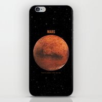 mars iPhone & iPod Skins featuring Mars by Terry Fan