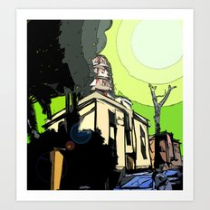 The House of Pollution Art Print
