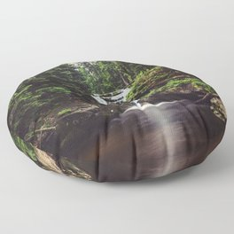Pure Water - Landscape and Nature Photography Floor Pillow