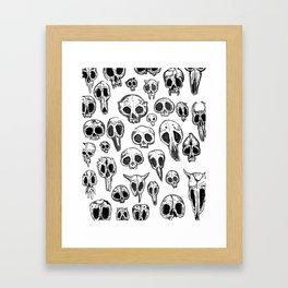 bestiary Framed Art Print