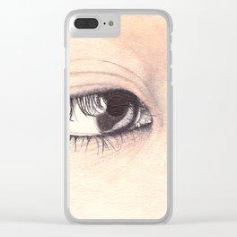 Araki Clear iPhone Case
