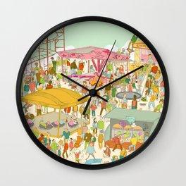 The funfair Wall Clock