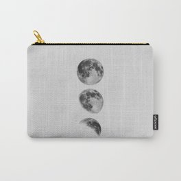Moon Phase Wall Art Moon Home Decor Moon Phases Nursery Decor Poster Minimalist Print Gothic Boho Carry-All Pouch