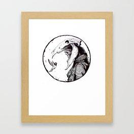 Dead hutsman Framed Art Print