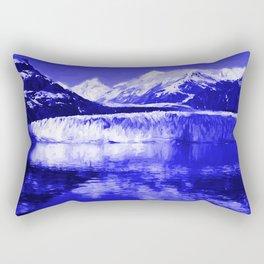 Glacier Bay Blue Rectangular Pillow