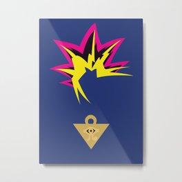 Yu Gi Oh! - Yami Yugi Metal Print