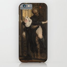 The Sin (1880) -Heinrich Lossow (1843-1897) iPhone Case
