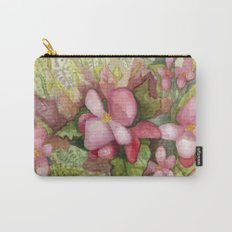 Begonia Beauty Carry-All Pouch