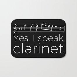 Yes, I speak clarinet Bath Mat