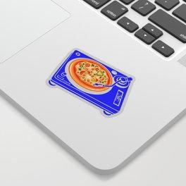 Pizza Scratch Sticker