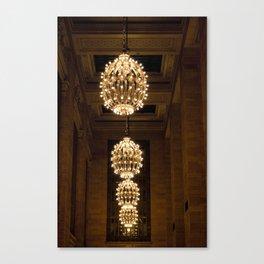 Grand Central Station Lights Canvas Print
