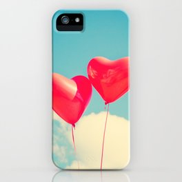 Passionate Hearts iPhone Case