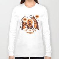 poker Long Sleeve T-shirts featuring Holdem Poker by Bakal Evgeny