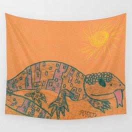 Gila Monster Wall Tapestry